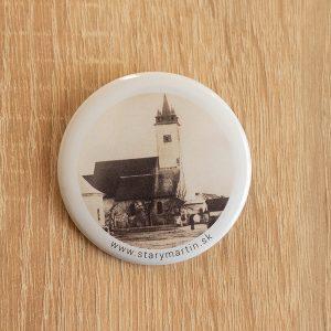 Odznak 56mm – Kostol pred 100 rokmi