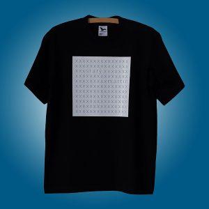 tričko xxx minimal white